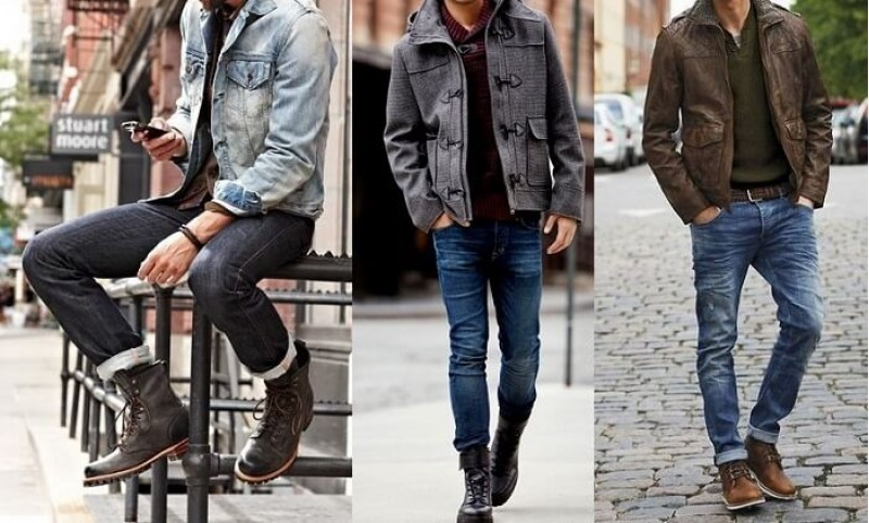 Với những anh chàng cao to thì cách chọn giày nam đó là chọn những đôi màu sắc sáng và hầm hố